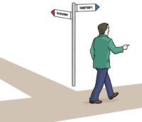 Weg finden