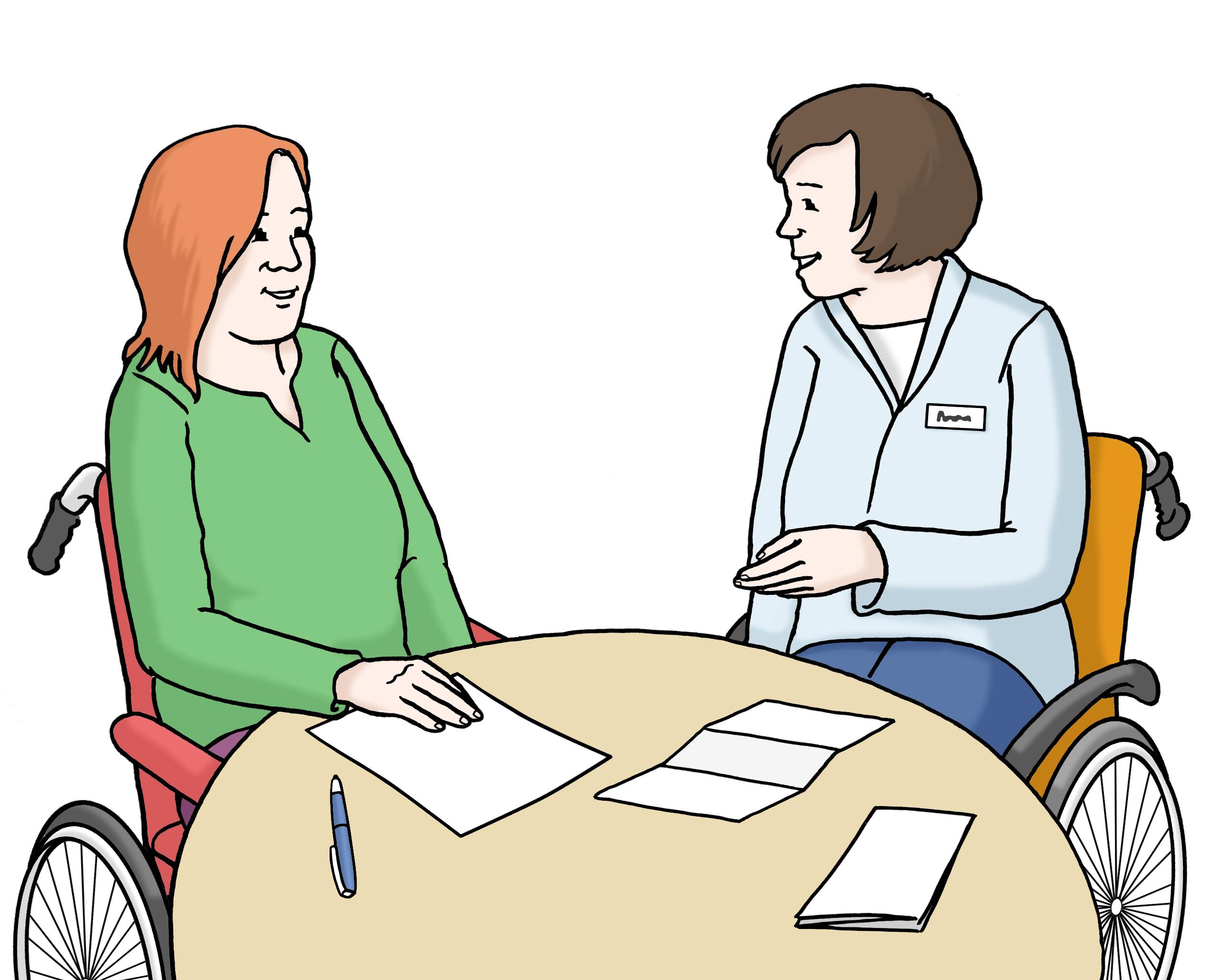 Beratung von Menschen mit Behinderung